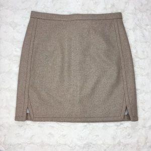 J. Crew Double Notch Wool Mini NWT Size 2
